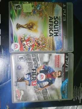 FIFA 13 + FIFA WORLD CUP PS3 (USADO)