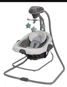 Columpio Mecedora Graco Duetconnect Lx 4moms fisher price bebe