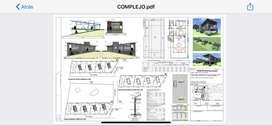 Lotes con proyecto planos listo para construir