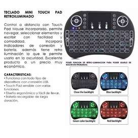 MINI TECLADO CON LUCES