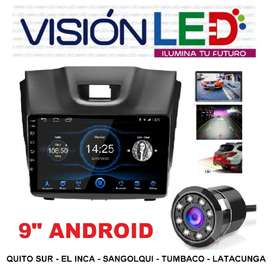 Radio Android Chevrolet Dmax 9 Pulgadas + Cámara De Retro