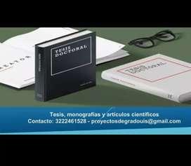Asesoría especializada en Tesis y Proyectos