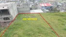 Se Vende Terreno de 200 m Al Sur Quito San Martin Av Simon Bolivar