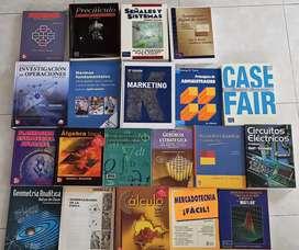 Se venden libros universitarios