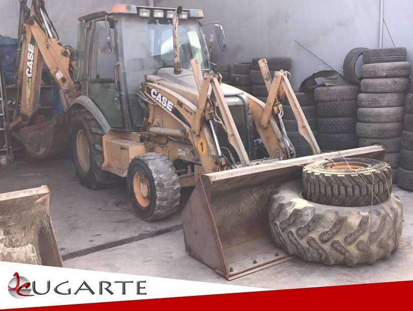 RETROEXCAVADORA CASE 580 2010 - JC UGARTE IMPORT S.A.C 0