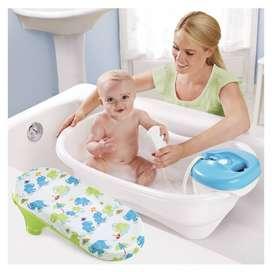 Vendo bañera para bebé con ducha