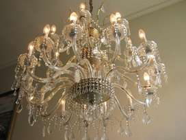 Lampara Cristal Strass 21 Luces
