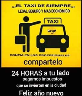 Busco taxi turno largó