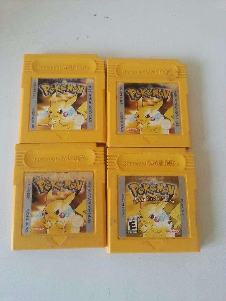 Pokemon Amarillo Gameboy 0