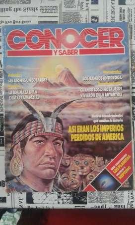 Revista Conocer Y Saber Numero 32 Año 1991