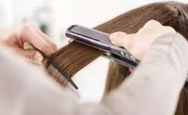 Planchado de cabello todo tipo de cabello