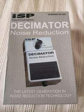 Pedal Decimator Noise Reduction