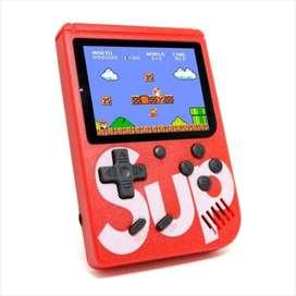 Nintendo Sup Game Box Mini Consola 400 Juegos En 1 + Control COLOR ROJO
