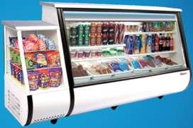 Vitrina refrigeradora-congeladora marca WONDER para negocio, debido a viaje el PRECIO ES NEGOCIABLE!!!