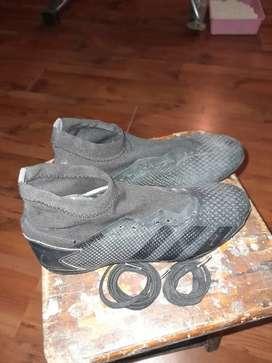 Botines Adidas Predator negro talle 38