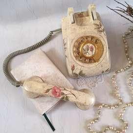 TELÉFONO DECORATIVO VINTAGE
