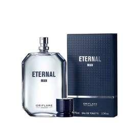 Eternal Man Eau de Toilette y Desodorante en Roll-On North For Men SubZero. Marca: Oriflame
