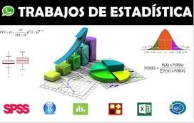 Clases de estadística descriptiva e inferencial