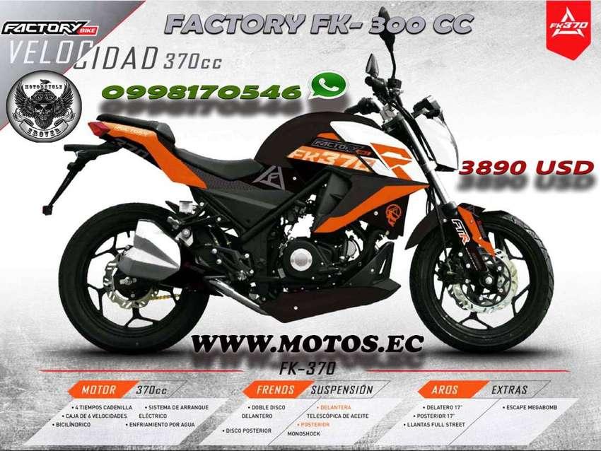 MOTO FACTORY FK-370 CC