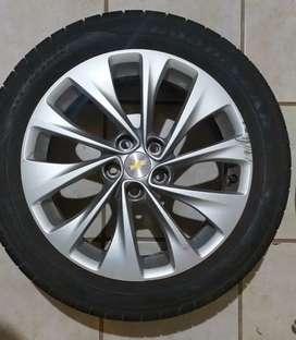 Llanta 17 Chevrolet Cruze