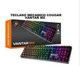 TECLADO GAMER MECANICO COUGAR VANTAR MX