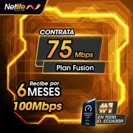 INTERNET NETLIFE FIBRA OPTICA