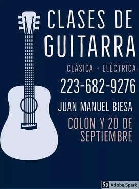 Clases de Guitarra en Mar del Plata