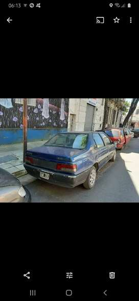 Peugeot 405 nafta gnc funcionando