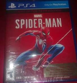 Juego ps4 spiderman NUEVO