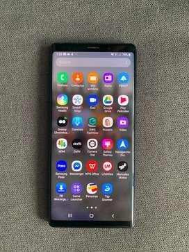 Vendo o permuto celular Samsung Galaxy Note 9 usasdo