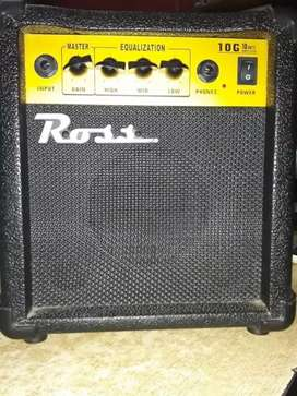 amplificador ross 10 watts impecable