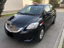 Toyota yaris 2012 taxi gnv 7899 dolares