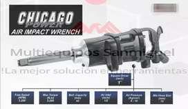 Pistola impacto Neumática CHICAGO 1 Pulgada