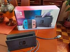 Espectacular Nintendo Switch de última generación + 2 juegos + estuches especiales (Como NUEVO!)