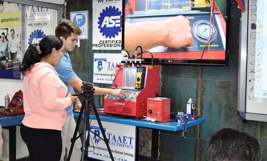Inyección Electrónica Gasolina con Aplicación (Osciloscopio y Scanner) 0