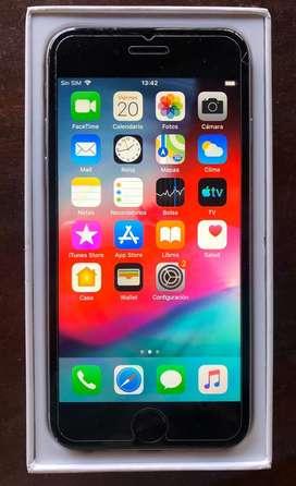 Iphone 6 usado, 16 gb, color gris. Muy buen estado!