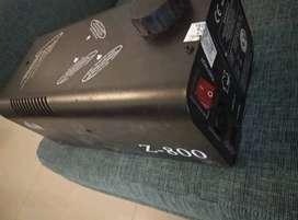Máquina De Humo Mlb Z 800 Sin Cable Sin Control