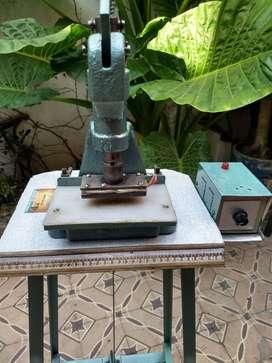 maquina grabadora de cuero