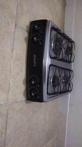 Vendo estufa Abba,acero inoxidable