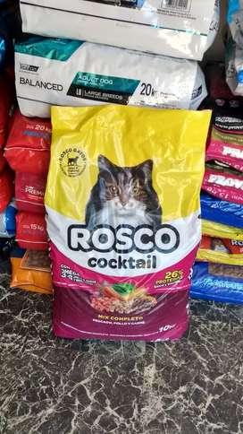 Rosco cocktel gato x10kg
