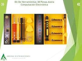 Kit De Herramientas 38 Piezas Anera Computación Electrónica