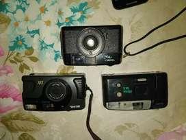 Vendo 3 camaras fotograficas antiguas
