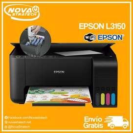 Impresora Epson L3150 Multifuncion con Wifi Tinta Continua Garantizada