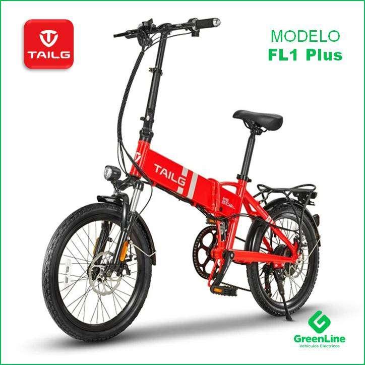 GreenLine Bicicleta Eléctrica Plegable TAILG FL1 Plus Aro 20 0