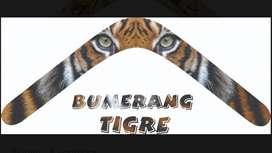 Bumerang Tigre envio gratis