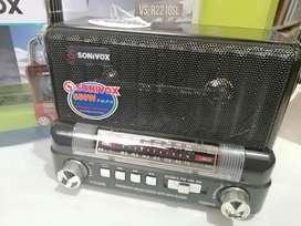 Radio solar portable am FM MP3 Bluetooth recargable en la cava del libro tienda universitaria