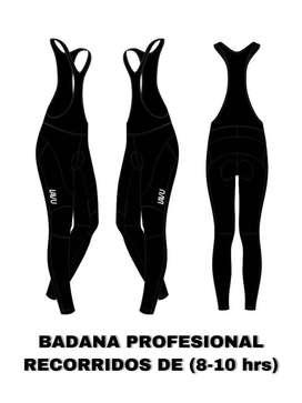 Lycra profesional para mujer larga (badana para 8-10 horas)