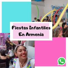 Animacion de fiestas infantiles   Fiestas infantiles Armenia