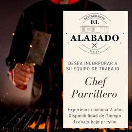 CHEF PARRILERO