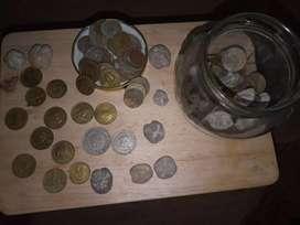 Vendo mis monedas y de cortecia entregó las hermosas piedras con fuiguras